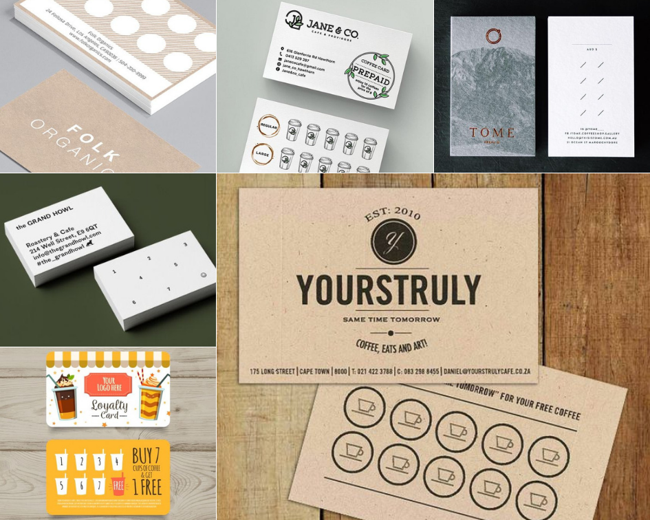 Loyalty Cards - Ideas mood board
